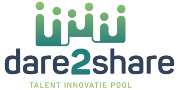 Dare2share logo website